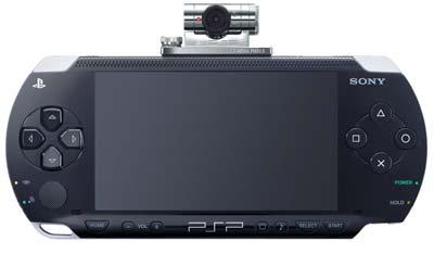دوربین بروی PSP