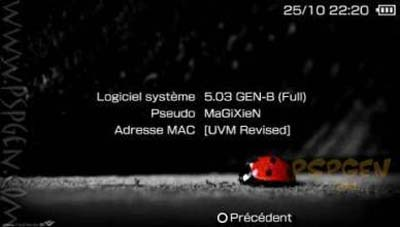 Custom Firmware 5.03GEN for HEN-B