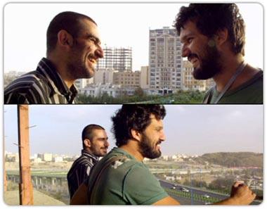 حامد بهداد و هیچکس در قسمت های از فیلم