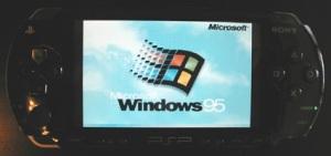 شبیه سازی ویندوز 95 بر روی پی اس پی